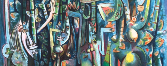 Wifredo Lam at the Centre Pompidou