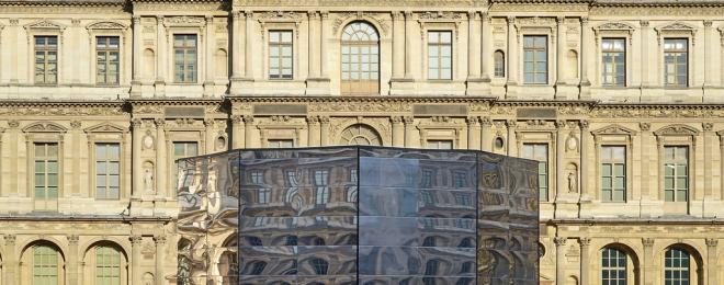 Eva Jospin's Panorama at the Louvre, Paris