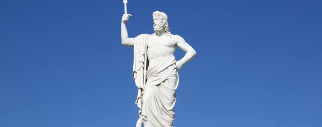 The Roman God of the Sea at Paris Plages