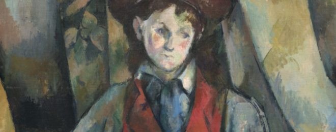 Portraits by Cézanne
