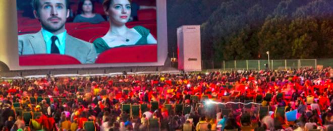 The Open Air Cinema Festival at Parc de la Villette Paris