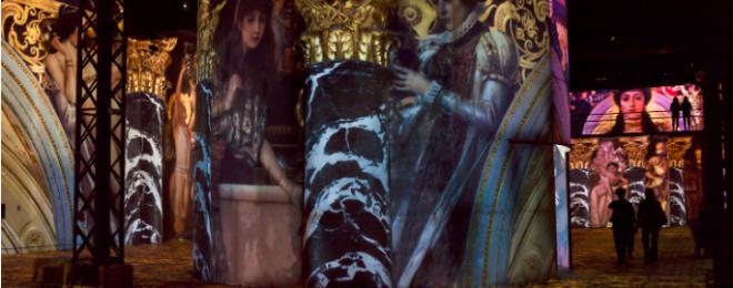 An Encore Show For Gustav Klimt At Atelier Des Lumieres