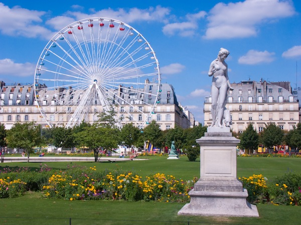 Rides and treats at the tuileries garden fair paris hotel louvre marsollier opera 3 star - Jardin des tuileries restaurant ...