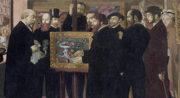 Eugène Delacroix--Hommage a Cezanne