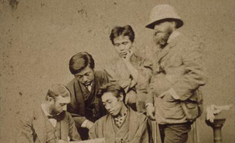 Exhibition-Enquêtes vagabondes, le voyage illustré d'Émile Guimet en Asie, MNAAG