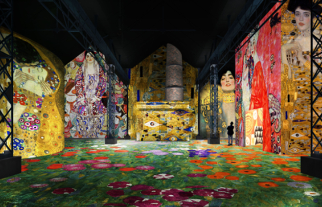 Atelier-des-Lumières-Gustav-Klimt