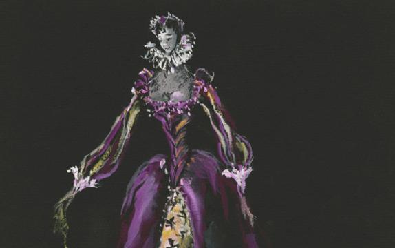 Yves Saint Laurent-Early Drawings
