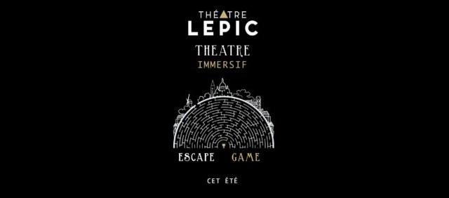 escape game theatre lepic