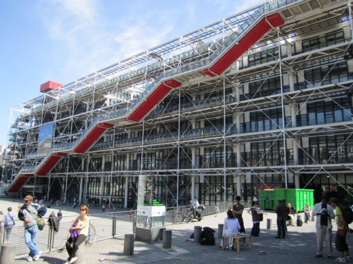 Beaubourg museum (GEORGES POMPIDOU) - Paris