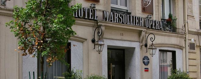Contact Hôtel Louvre Marsollier