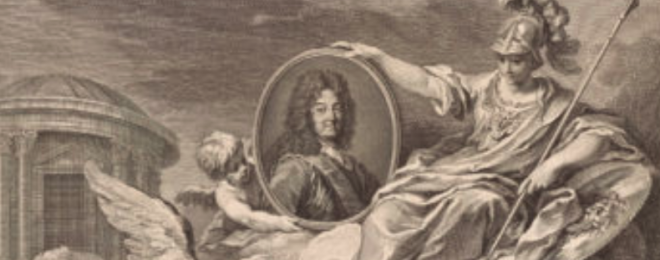 Engraving for the King at the Louvre Museum