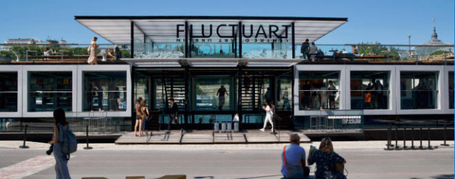Fluctuart: The New Floating Art Centre on the Seine