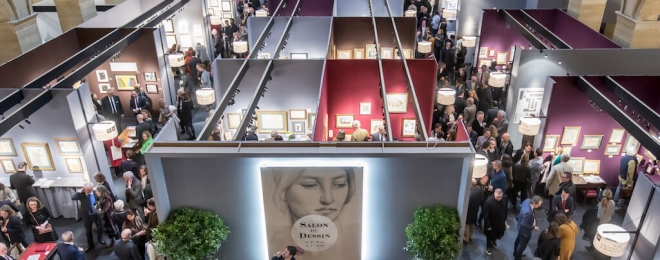 Le Salon du Dessin: Paris drawing fair 2020 postponed to March 2021