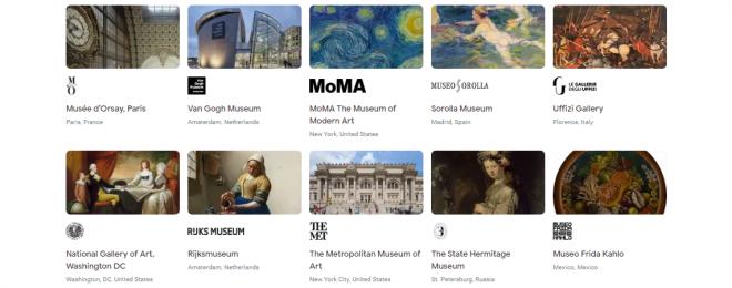 Visit Paris Museums via Google Arts And Culture