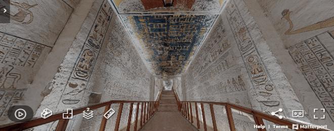 Take a Virtual Tour of Pharaoh Ramesses VI's Tomb