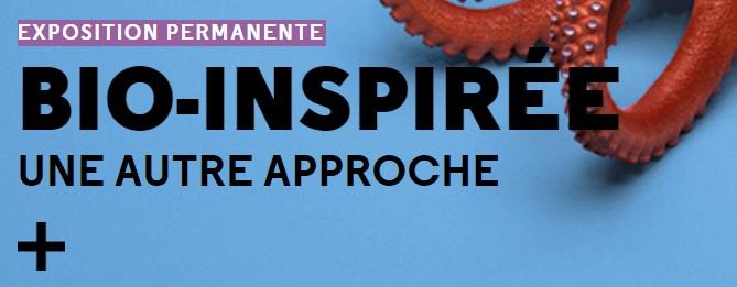 bio inspirée exhibition cité des sciences paris